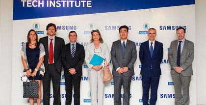 En su 1er año, Samsung Tech Institute en la UPM ha formado a 240 jóvenes