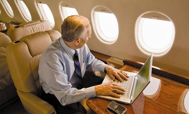 Internet en los aviones