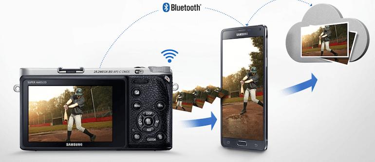 Samsung NX500 camara con wifi