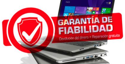 Garantía de Toshiba: Si tu portátil falla, Toshiba lo arregla y te devuelve el dinero