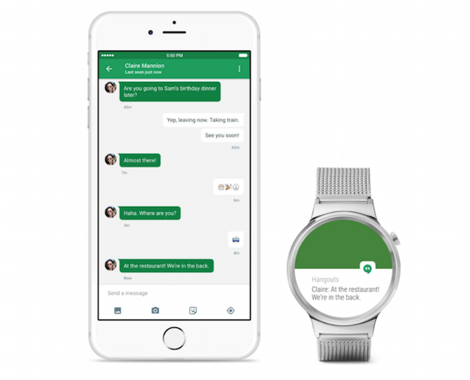 Los relojes inteligentes, pulseras inteligentes y demás dispositivos con Android Wear ya son compatibles con iPhone