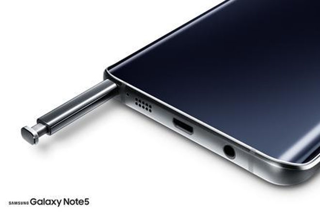 Galaxy Note 5 diseño