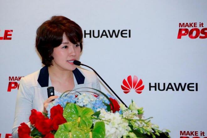 Glory Zhang, CMO de Huawei Consumer BG