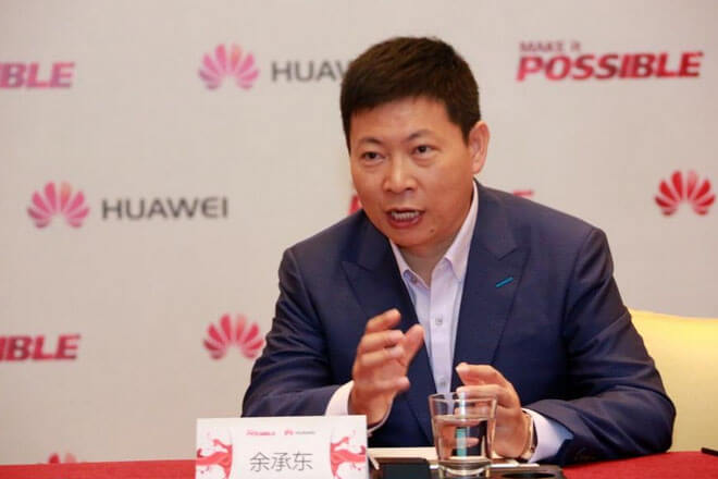 Mr. Richard Yu, CEO de Huawei Consumer BG