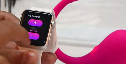 lush Vibe el primer juguete sexual controlado por el Apple Watch