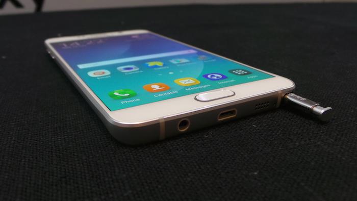 Samsung Galaxy Note 5 lápiz óptico