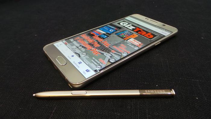 Samsung Galaxy Note 5 spen lapiz optico opiniones