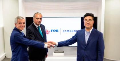 Samsung extiende su patrocinio tecnológico al baloncesto español