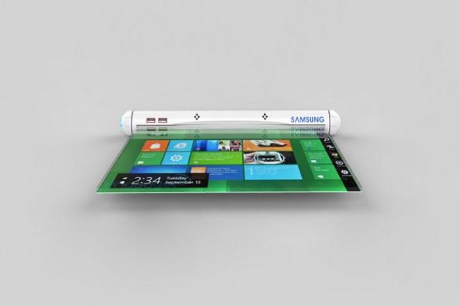 Tablet Enrollable de Samsung