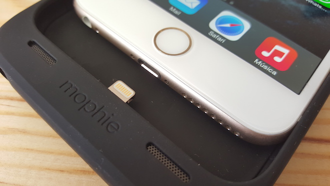 bateria externa carcasa iphone 6 plus mophie opinion