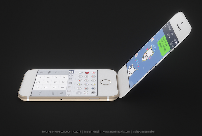 iphone 6 plegable flip phone