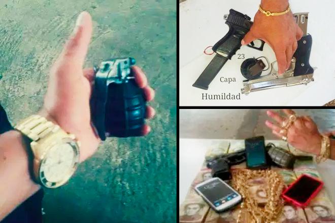 Collage a partir de imágenes publicadas en Efecto Cocuyo