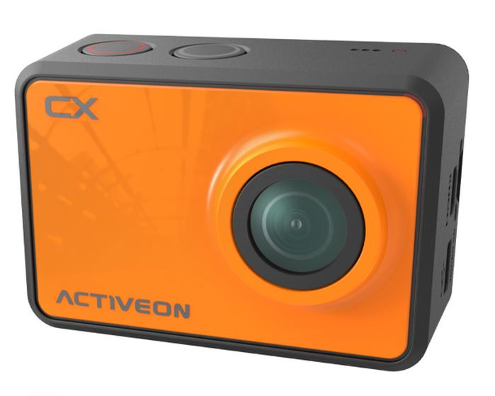 ACTIVEON CX: Cámara de acción Full HD por menos de 120€