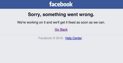 Por segunda vez en una semana Facebook se queda sin servicio