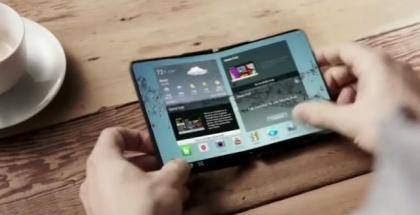 Se filtran imágenes del proyecto de pantalla plegable de Samsung