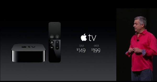 Apple TV es presentado y llega con nuevos sistema tvOS