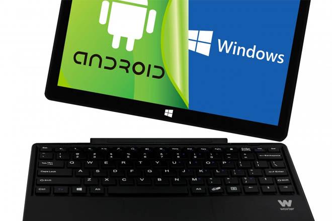 Así es Woxter ZEN 10, el tablet que marcha con Windows y Android al mismo tiempo