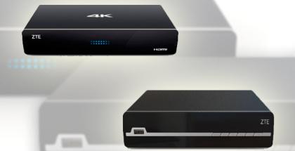 ZTE deja ver sus nuevos decodificadores 4K UHD para el hogar