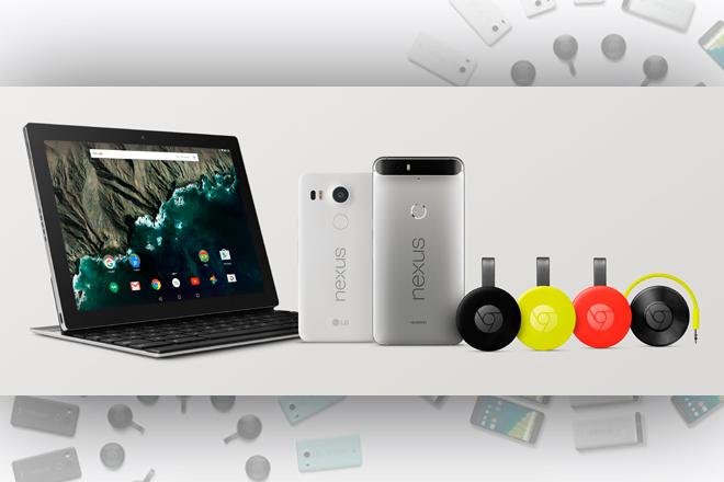 Google presenta dos Nexus, nuevos Chromecast y su propio tablet