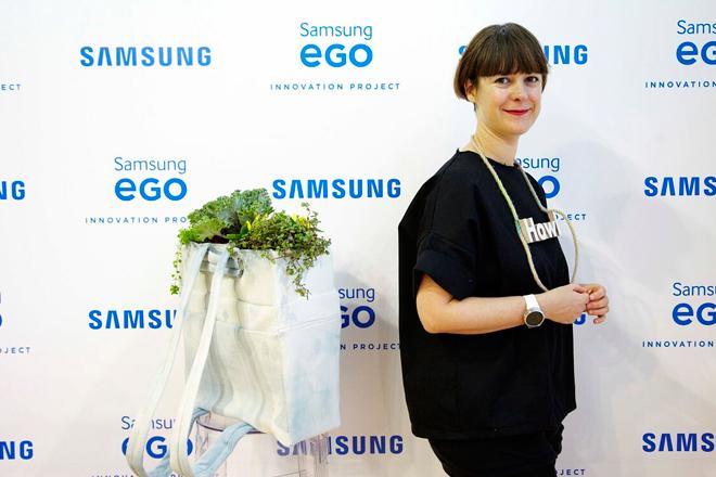 Moda y tecnología: Colección de Glück inaugura jornada de Samsung EGO