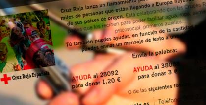 Yoigo se une a la Cruz Roja en campaña pro refugiados en Europa