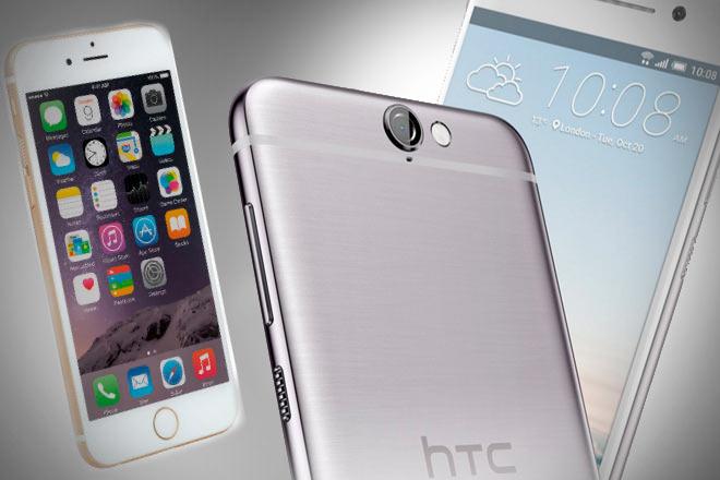 HTC asegura que Apple copió sus diseños para crear el iPhone 6