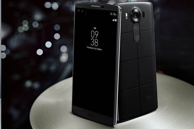 La cámara de LG V10 posee una cámara con una apertura de f/1.8 (Fuente: LG)