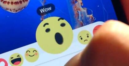 """Nuevo botón """"Me gusta"""" de Facebook (Reacciones)"""