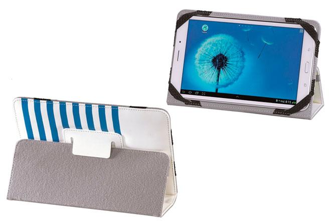 Design Line Stripes y Design Line Wild Leo son los recientes modelos de fundas universales para tablets de Hama