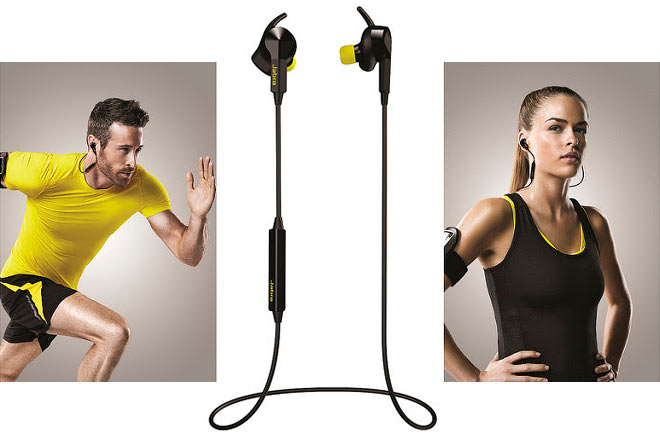 Estos auriculares inalámbricos monitorean tu frecuencia cardíaca durante el running (Jabra Sport Pulse Wireless)