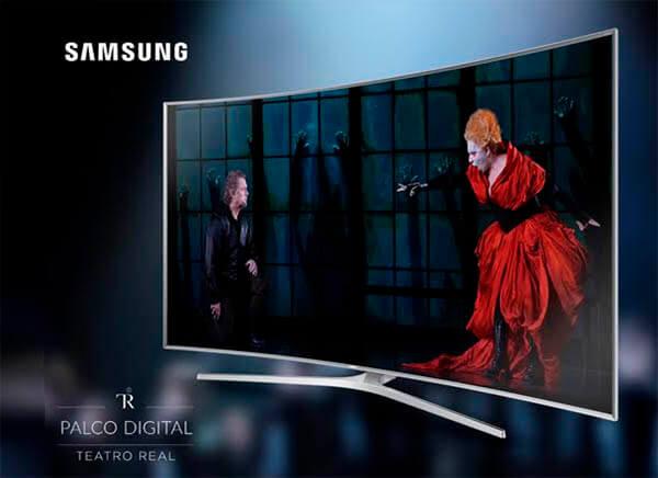 Samsung Smart TV te lleva la Ópera al salón de casa con su Palco Digital