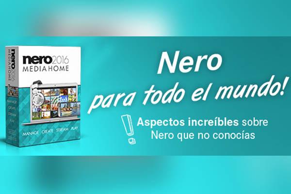 Nero MediaHome te permite organizar, respaldar y compartir con una sola herramienta