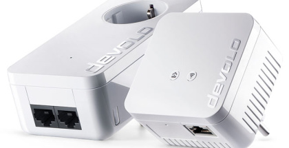 devolo dLAN 550 WiFi: compacto adaptador que garantiza potente conexión a Internet en todo el hogar