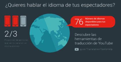 Aumenta tus vistas, YouTube y todas sus herramientas de traducción