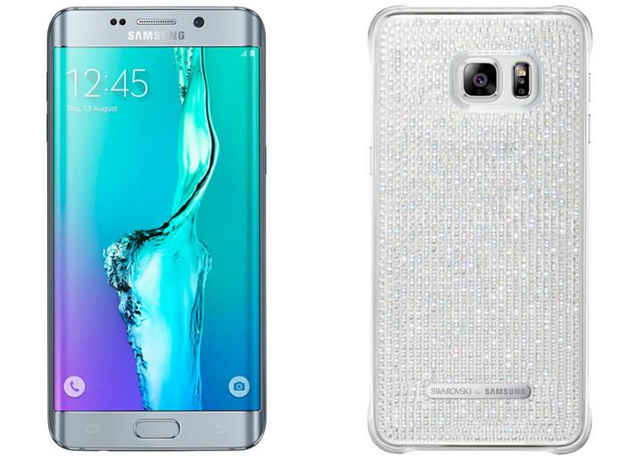 Samsung Galaxy S6 edge+ se viste de cristales Swarovski con Glam Edition