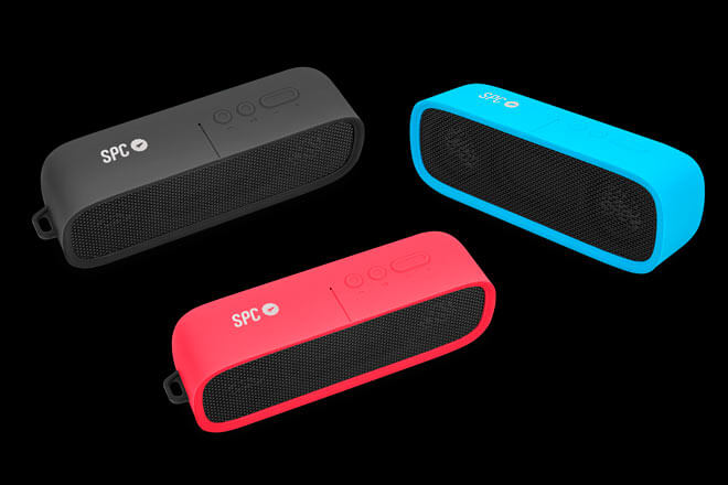 Nuevos altavoces de SPC para móviles, ofrecen 18 horas de autonomía y conexión inalámbrica