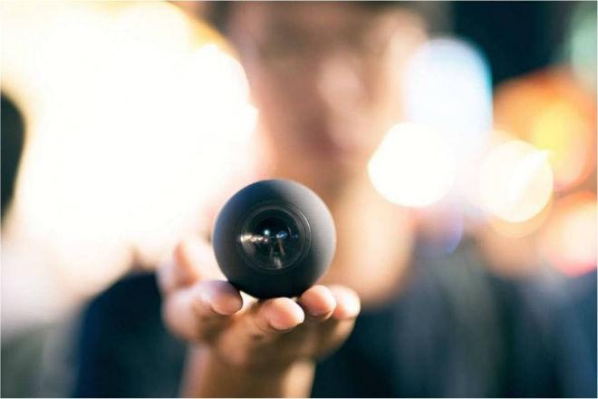 Luna: vídeo de 360 grados en la cámara más pequeña del mercado