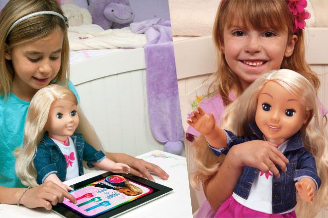 My Friend Cayla, la primera muñeca que interactúa de forma real con los peques