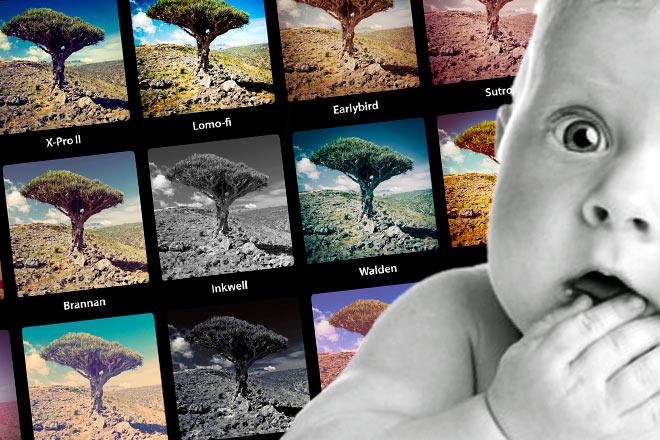 La moda geek: poner nombres de filtros de Instagram a tus hijos