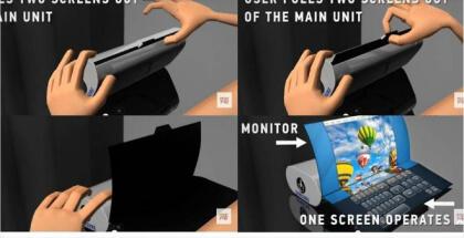 Portátiles enrollables sería la nueva patente de Samsung