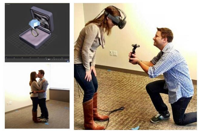 Amor y realidad virtual: Más que sexo, una cuestión romántica