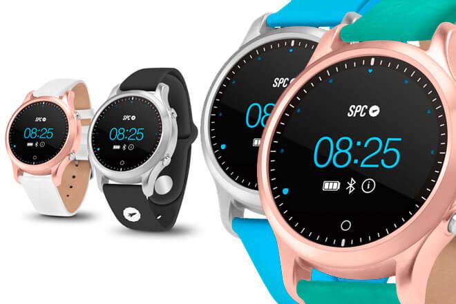 Así es SPC SMARTEE WATCH CIRCLE, funcional wearable español por menos de 130€
