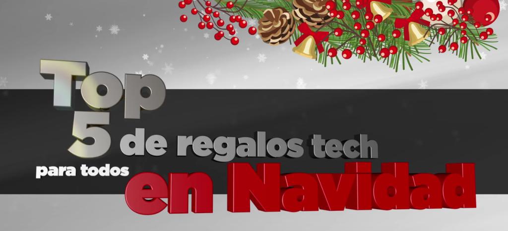 top 5 regalos tecnologicos