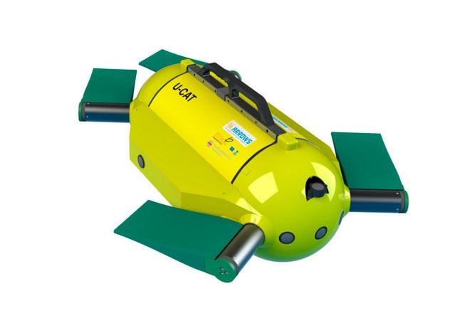 Con esta tortuga robot podrías hallar tesoros en el fondo del mar
