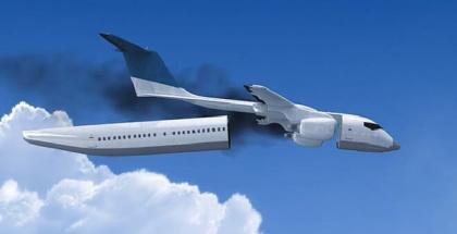 Avión contra accidentes aéreos, crean nuevo diseño de cabinas para vuelos más seguros