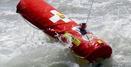 EMILY, el salvavidas robótico con el que Grecia quiere rescatar a los refugiados sirios en el mar