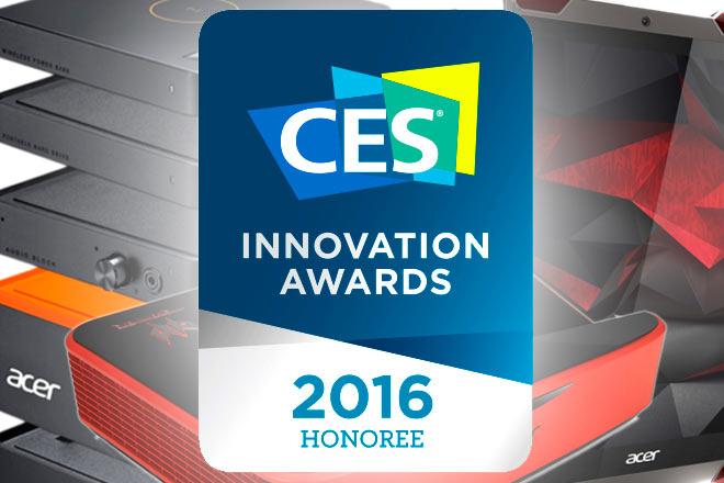 Acer logra premio honorífico a la innovación del CES 2016