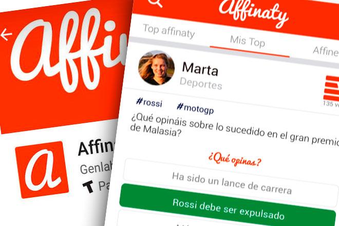 Affinaty, la red social de opinión hecha en España