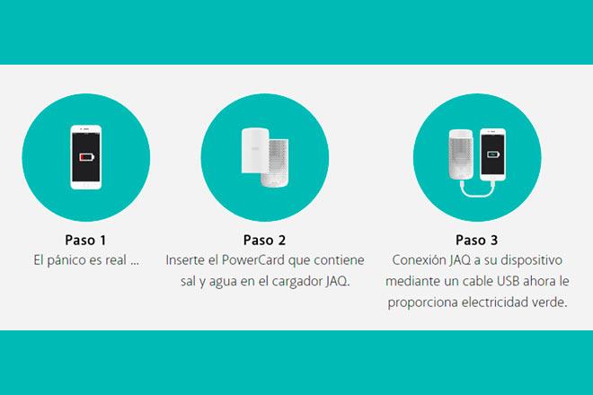 Las PowerCards no son renovables. Habría que optar por una nueva cada vez que sea menester cargar un dispositivo.