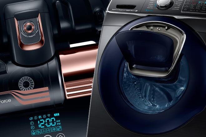 #CES2016: Para la limpieza del hogar, Samsung propone inteligentes soluciones